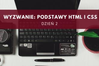 podstawy HTML i CSS